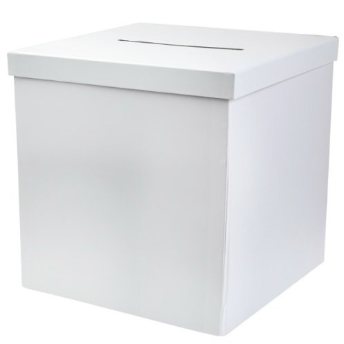 Briefbox Kartenbox weiss