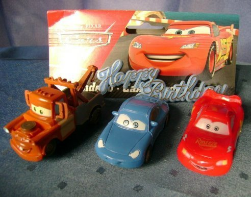 3 Disney Cars Autos