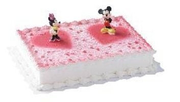 Dekorationsset Mickey Mouse und Minnie Mouse