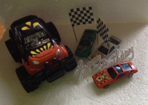 Set 4-Wheels racing