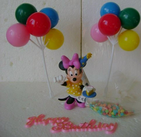 Minnie Mouse Dekorationsset