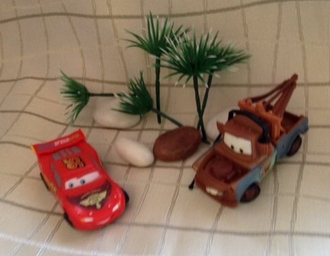 Tortendekoration Disney Cars Lightning McQueen