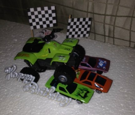 Set 4-Wheels racing gün
