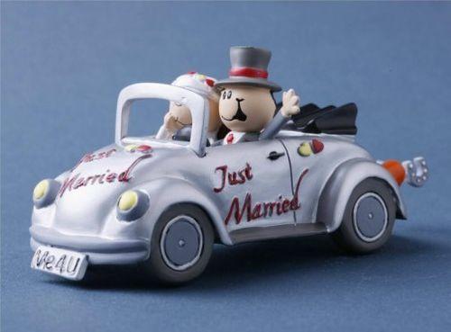 Hochzeitsauto Vw Kafer Mit Brautpaar Just Married Dekor24 Dimecodeko
