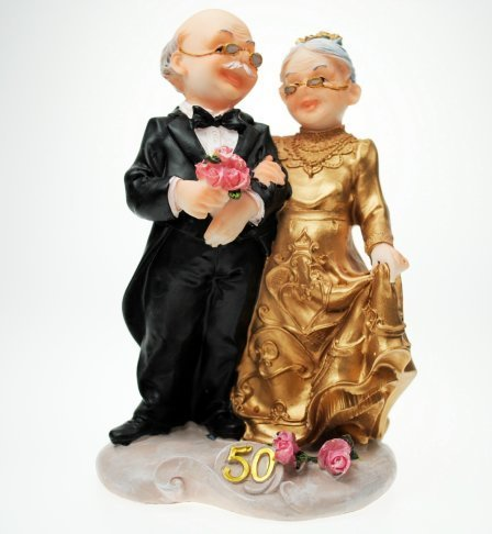 Goldene Hochzeit Brautpaar